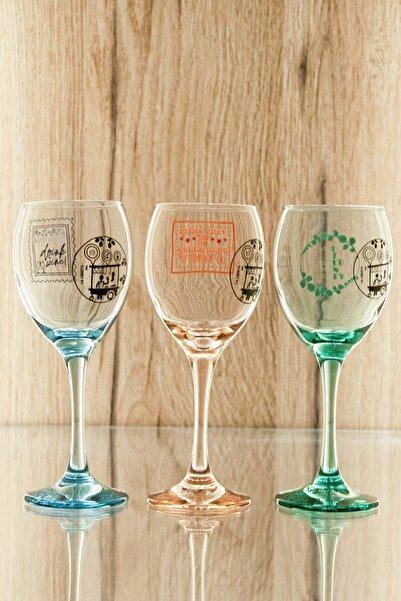 La Liberta Design Stamp Collection Tasarım Şarap Kadehleri