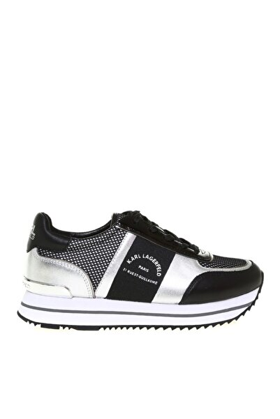 Karl Lagerfeld Kadın Siyah Velocita Iı Maison Karl Sneaker