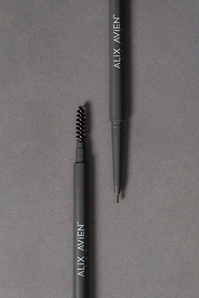 Alix Avien Kaş Kalemi Retractable Eyebrow Pencil 02 Light Brown