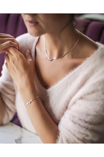 Collection by Duygu Şahin Klasik Gümüş Choker Kolye Ve Gümüş Bileklik Takım