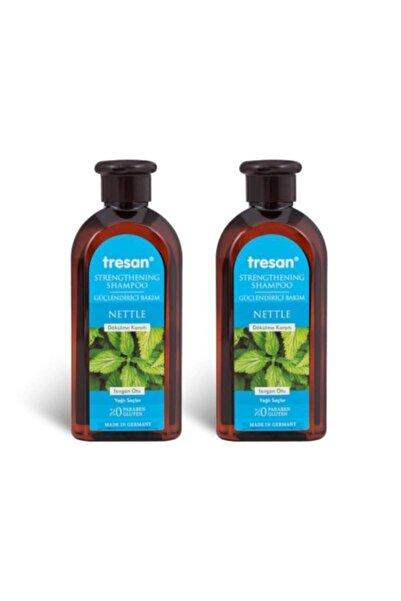 Tresan Dökülme Karşıtı Isırgan Otu Güçlendirici Bakım Şampuanı 300 ml 2 Adet