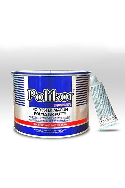 Polikor Polyester Çelik Macun 2700 Gr + 60 Gr Aktivatör