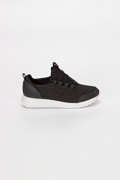 Calvin Klein Kadın Siyah Taş İşlemeli Sneaker