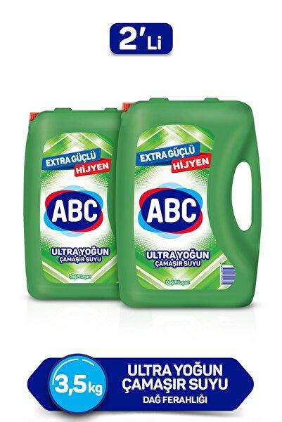 ABC Ultra Çamaşır Suyu 3,5 Kg 2'li Paket