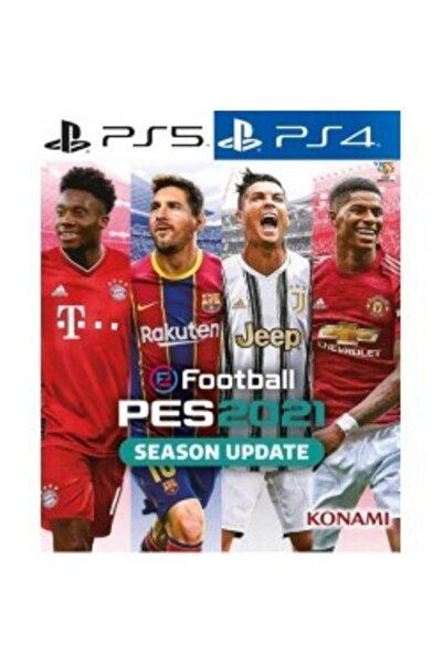 Sony Efootball Pes 2021 Season Update Standard Edıtıon Ps4 Ps5 Psn Key Global