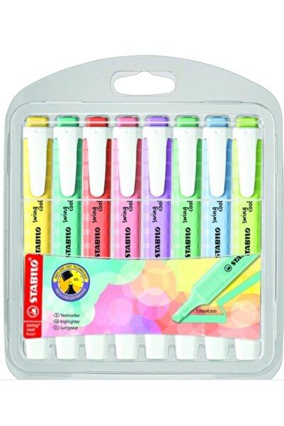 Stabilo Swing Cool Pastel 8'li Paket (yeni Renkler)