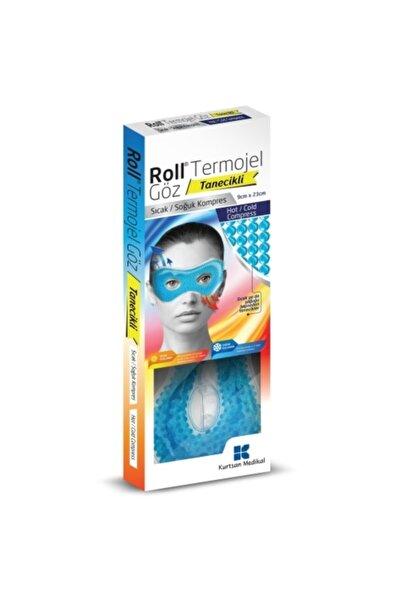 Roll Göz Maskesi Termojel Göz 9x23 Cm Tanecikli