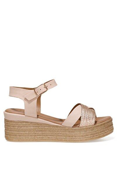 İnci LERI.Z 1FX Pudra Kadın Dolgu Topuklu Sandalet 101038320