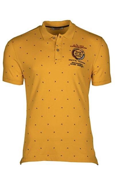 Arma Erkek Altın Renk Polo Yaka Tişört 7980