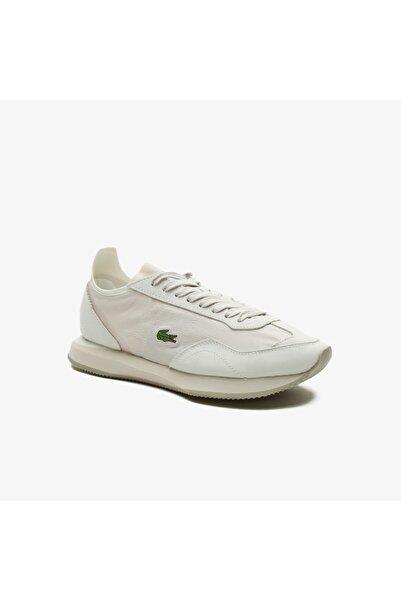 Lacoste Match Break 0921 2 Sfa Kadın Beyaz - Bej Sneaker
