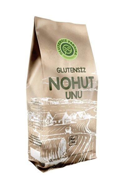 GLUTENSİZ FABRİKA Glutensiz Kepekli Çiğ Nohut Unu 1 Kilogram Vegan Sağlıklı Doğal Katkısız
