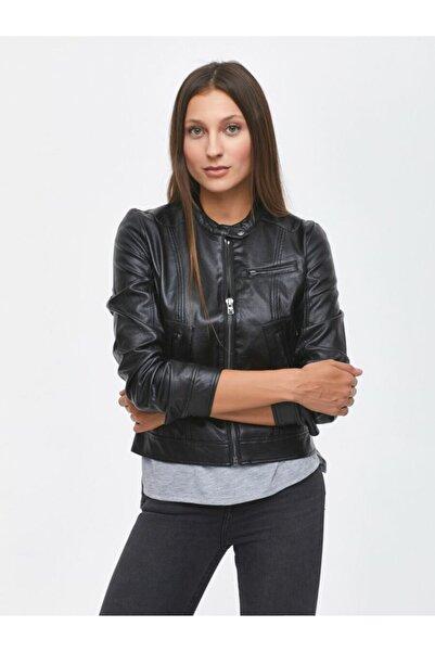 Ltb Kadın Siyah Bobo Ceket 200 Xs