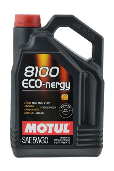 Motul 8100 Eco-nergy 5w30 4 Litre %100 Sentetik Motor Yağı