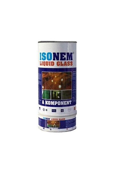 Isonem Lıquid Glass (SIVI CAM) Şeffaf Zemin Su Yalıtımı 2 Kg