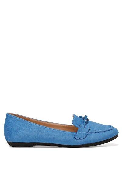 Nine West MAED 1FX Mavi Kadın Loafer Ayakkabı 101029393