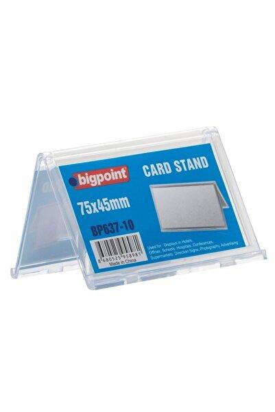 Bigpoint Kart Standı Çift Taraflı 75x45mm