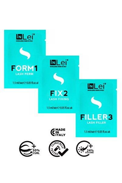İnLei Lash Filler Kirpik Lifting Seti 3×1,5ml