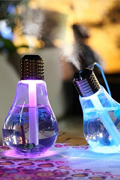 Ally Ssmobil Led Işıklı Ampül Hava Nemlendirici Buhar Makinası Humidifier
