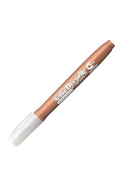 Artlines Bronz Fırça Uç Dekorasyon Kalemi