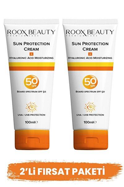 Roox Beauty Güneş Kremi Spf 50 -2'li