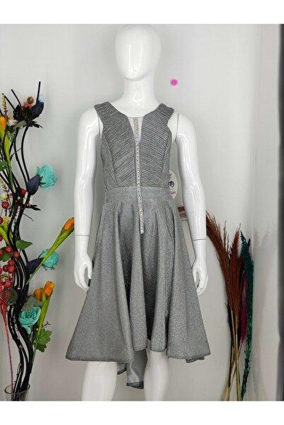 Babooni Kız Çocuk Arkası Uzun Abiye Elbise 10-15 Yaş