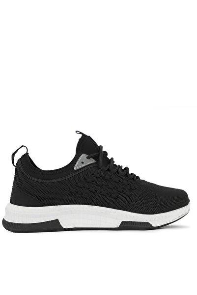Slazenger Troy Sneaker Kadın Ayakkabı Siyah / Beyaz Sa11rk115