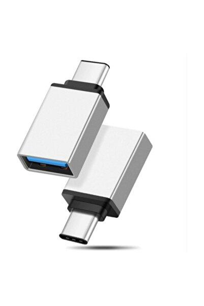 Borofone Type C Usb 3.1 To Usb 3.0 Dönüştürücü Otg Çevirici Adaptör Metal Macbook, Ipad, Surface Pro Uyumlu