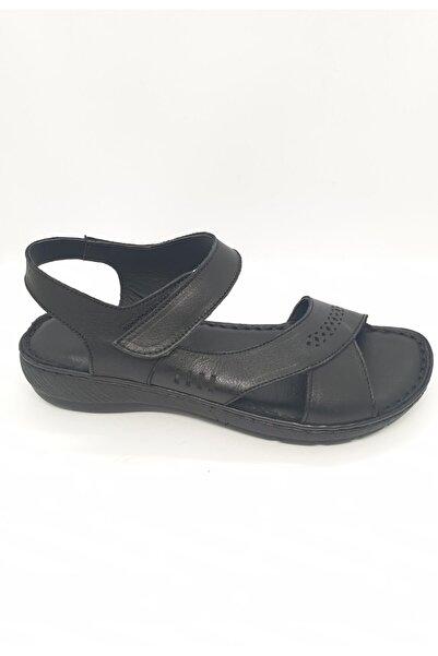 Polaris Günlük Deri Sandalet