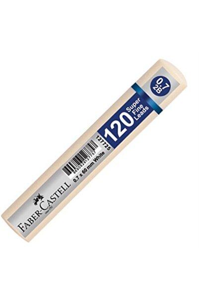 Faber Castell Grip Min 0.7 2b 60 Mm 120`li Beyaz Tüp 1 Adet