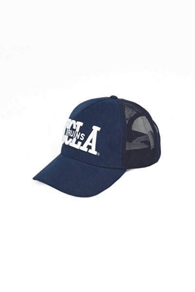 UCLA Mccloud Lacivert Fileli Baseball Cap Nakışlı Şapka