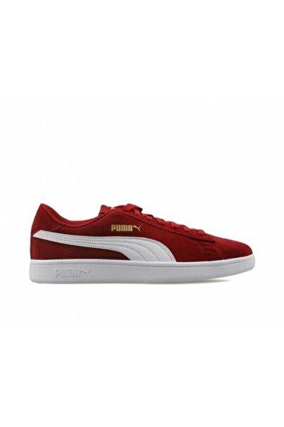 Puma SMASH V2 Bordo Erkek Sneaker Ayakkabı 100480279