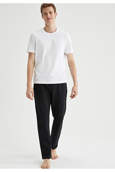 DeFacto Erkek Regular Fit Basic Pijama Alt