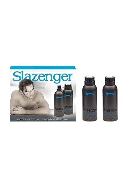 Slazenger Active Sport Mavi Edt+deo Set+2 Deo 125 ml