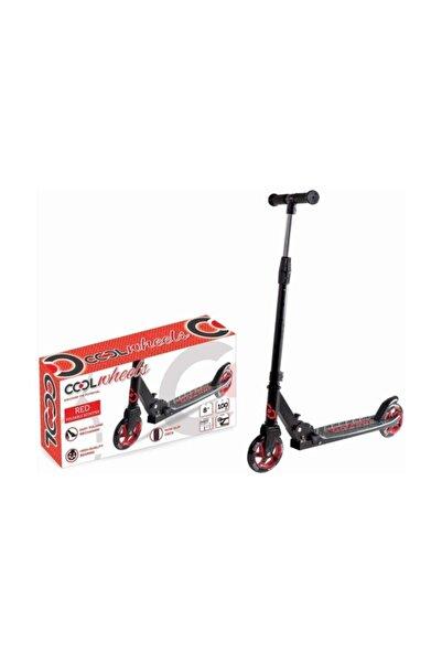 Cool Wheels Kırmızı Katlamalı 2 Tekerlekli Dev Teker Scooter
