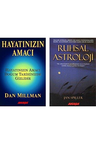 Akaşa Yayınları Hayatınızın Amacı Doğum Tarihinizde Gizlidir / Ruhsal Astroloji 2 Kitap Set