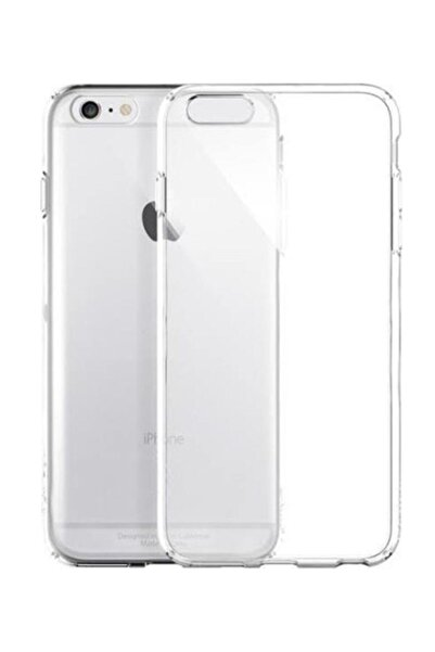 Sunix Iphone 6s Uyumlu Tam Şeffaf Silikon Şeffaf Kılıf