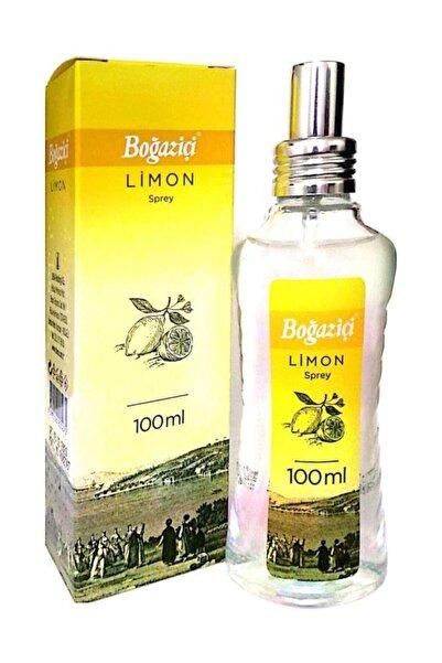 Boğaziçi 80° Limon Kolonyası 100 ml Sprey Cam Şişe