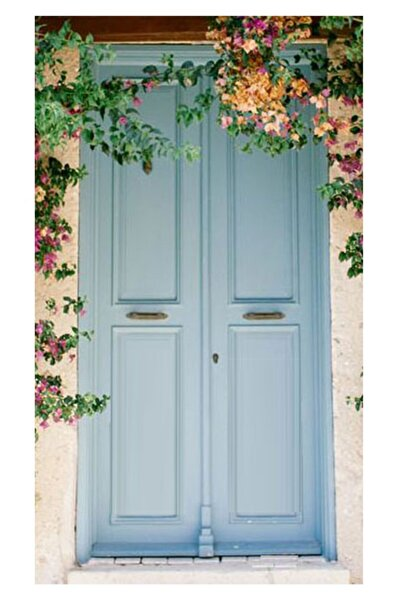 Filli Boya Panel Kapı Boyası Seti Soft Renkler 0,75l Kullanıma Hazır Renk : Toz Mavi