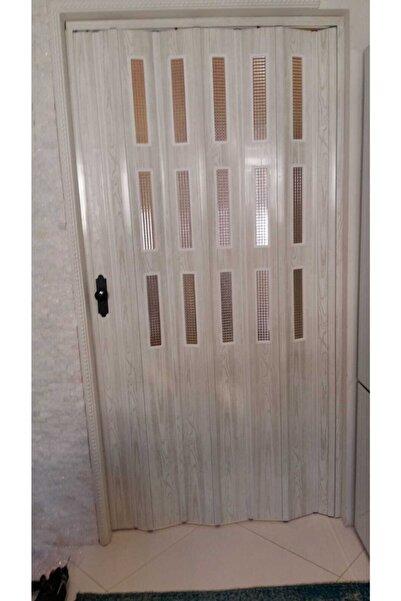 FARAN DEKORASYON Akağaç Camlı Akordiyon Kapı 117*200
