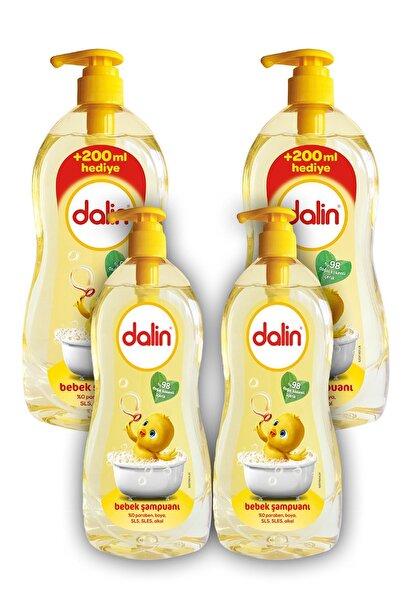 Dalin Klasik Bebek Şampuanı (900+700) X 2 Adet
