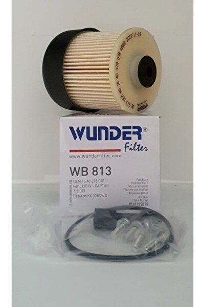 WUNDER Wb 813 Renault Clio Iv/dacia Logan Sandero Lodgy Dokker Duster Iı 164039594r Mazot Filtresi