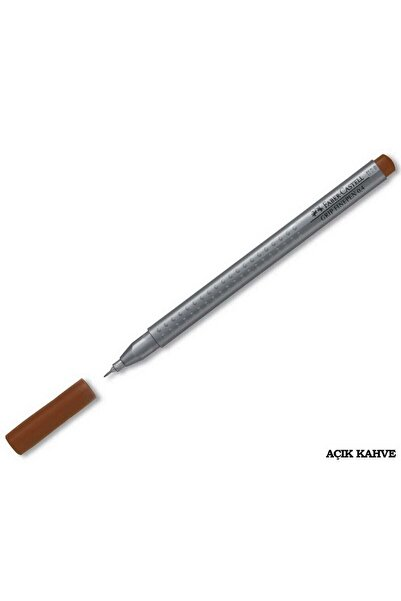 Faber Castell Grip Finepen 0.4 Mm Açık Kahverengi Tekli
