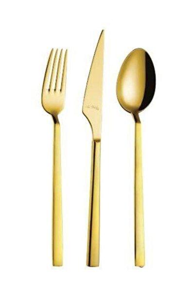 Aryıldız Vogue Gold 24 Parça 6 Kişilik Çatal Kaşık Bıçak Takımı