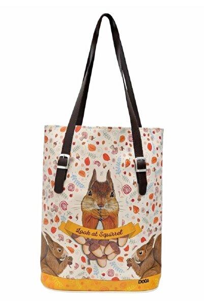 Dogo Look At Squirrel Tallbag Renkli Kadın Omuz Çantası
