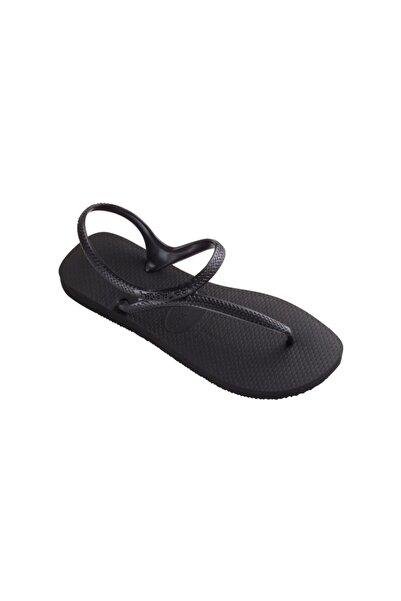 Havaianas Kadın Siyah Parmak Arası  Sandalet