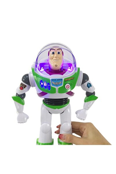FO Ej892 Toy Story Işıklı & Sesli Buzz Lightyear Figür Oyuncak