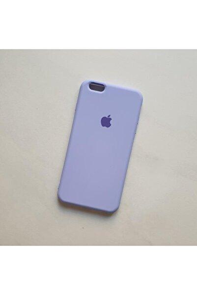 Gritty Iphone 6 Plus 6s Plus Uyumlu Logolu Içi Kadife Lansman Silikon Kılıf