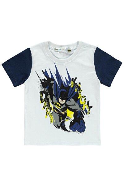 Batman Erkek Çocuk Tişört 2-5 Yaş Lacivert