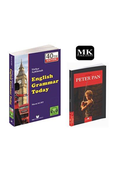 MK Publications English Grammar Today, Türkçe Açıklamalı Gramer Kitabı Yeni Baskı + Ingilizce A.1 Hikaye Peter Pan