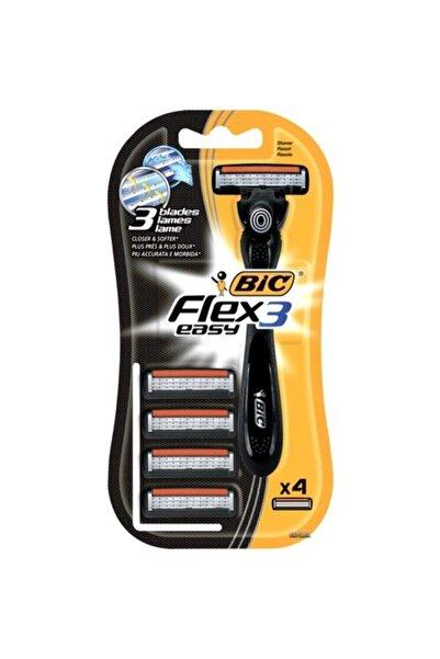 Bic Flex 3 Hybrid Tıraş Makinesi 4 Yedek Kartuşlu